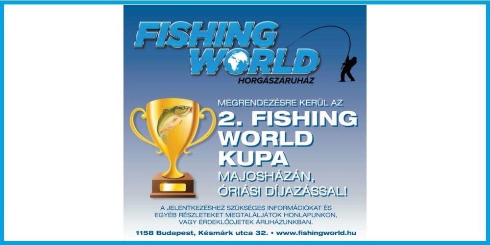2. FISHINGWORLD KUPA A HARCSA HORGÁSZTAVON